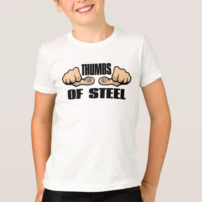 Teen Texter - Thumbs of Steel! T-Shirt