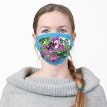 Teen Titans Go!   Beast Boy Shapeshifts Adult Cloth Face Mask