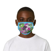 Teen Titans Go!   Beast Boy Shapeshifts Kids' Cloth Face Mask