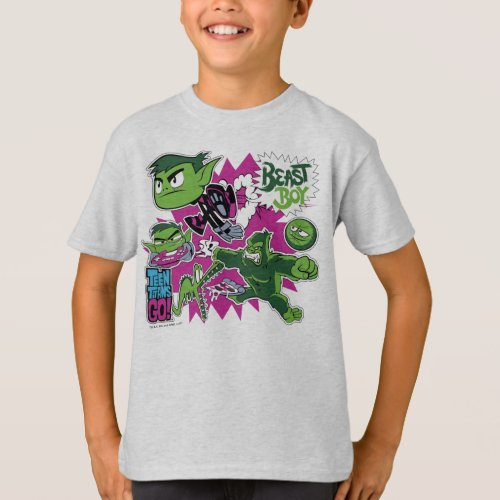 Teen Titans Go  Beast Boy Shapeshifts T_Shirt