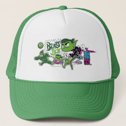 Teen Titans Go  Beast Boy Shapeshifts Trucker Hat
