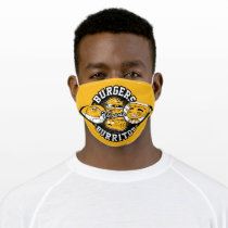 Teen Titans Go!   Burgers Versus Burritos Adult Cloth Face Mask