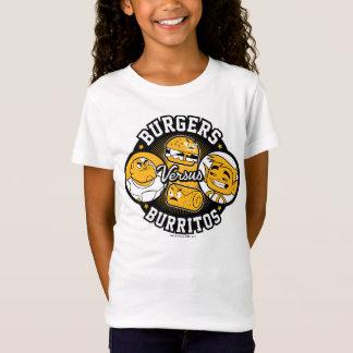 Teen Titans Go!   Burgers Versus Burritos T-Shirt