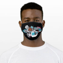 Teen Titans Go!   Cyborg's Arsenal Graphic Adult Cloth Face Mask
