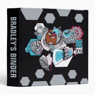 Teen Titans Go! | Cyborg's Arsenal Graphic Binder