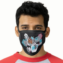 Teen Titans Go!   Cyborg's Arsenal Graphic Face Mask