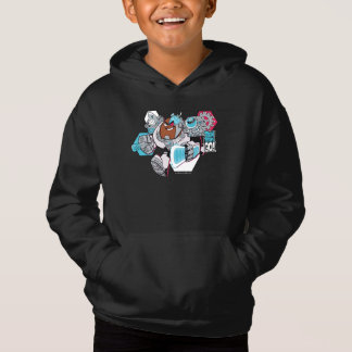 Teen Titans Go! | Cyborg's Arsenal Graphic Hoodie