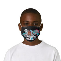 Teen Titans Go!   Cyborg's Arsenal Graphic Kids' Cloth Face Mask