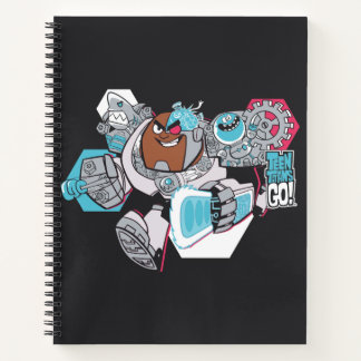 Teen Titans Go! | Cyborg's Arsenal Graphic Notebook