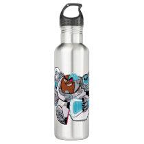Teen Titans Go! | Cyborg's Arsenal Graphic Water Bottle