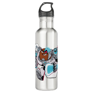 Teen Titans Go! | Cyborg's Arsenal Graphic Water Bottle