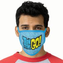 Teen Titans Go!   Logo 2 Face Mask