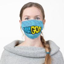 Teen Titans Go!   Logo Adult Cloth Face Mask