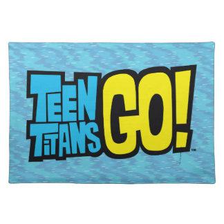 Teen Titans Go! | Logo Cloth Placemat