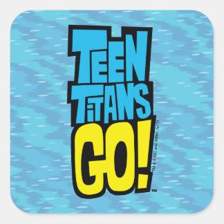 Teen Titans Go! | Logo Square Sticker