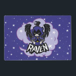 "Teen Titans Go! | Raven Attack Placemat<br><div class=""desc"">Raven generates her Raven Attack,  a giant black raven formed with her soul-self. Get this amazing Teen Titans Go! Raven graphic on a shirt,  mug,  or any of your favorite Zazzle products in the store!</div>"