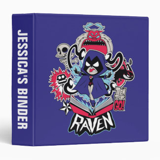 Teen Titans Go! | Raven Demonic Powers Graphic Binder