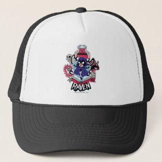 Teen Titans Go! | Raven Demonic Powers Graphic Trucker Hat