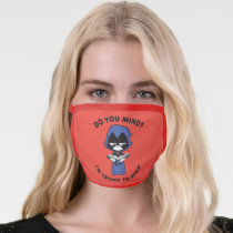 """Teen Titans Go!   Raven """"I'm Trying To Read"""" Face Mask"""