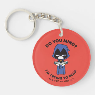 "Teen Titans Go! | Raven ""I'm Trying To Read"" Keychain"