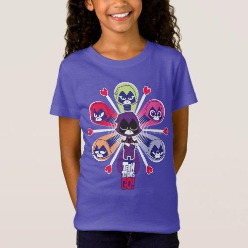 Teen Titans Go  Ravens Emoticlones T_Shirt