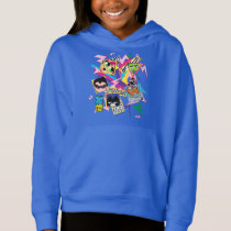 Teen Titans Go! | Retro 90's Group Collage Hoodie