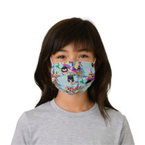Teen Titans Go!   Retro 90's Group Collage Kids' Cloth Face Mask