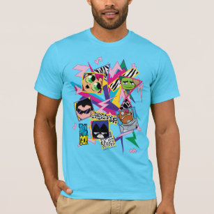 Geometric Shape Collage T Shirts