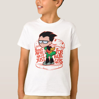 Teen Titans Go!   Robin Booty Scooty Buns T-Shirt
