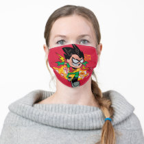 Teen Titans Go!   Robin's Arsenal Graphic Adult Cloth Face Mask