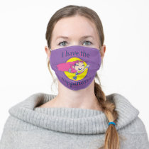 """Teen Titans Go!   Starfire """"I Have The Happiness"""" Adult Cloth Face Mask"""
