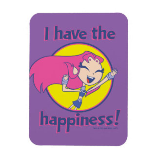 """Teen Titans Go!   Starfire """"I Have The Happiness"""" Magnet"""