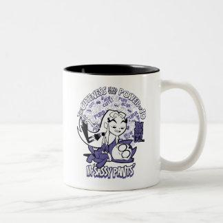 Teen Titans Go! | Starfire & Mr Sassy Pants Two-Tone Coffee Mug