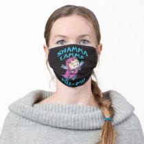 """Teen Titans Go!   Starfire """"Shamma Lamma Mu-Mu"""" Adult Cloth Face Mask"""