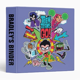 Teen Titans Go! | Team Arrow Graphic 3 Ring Binder
