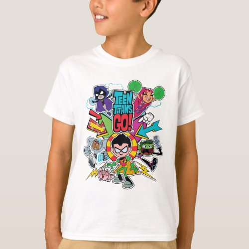 Teen Titans Go  Team Arrow Graphic T_Shirt