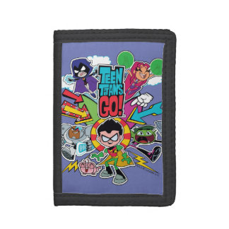 Teen Titans Go! | Team Arrow Graphic Trifold Wallet
