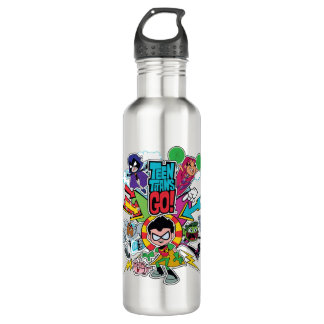 Teen Titans Go! | Team Arrow Graphic Water Bottle