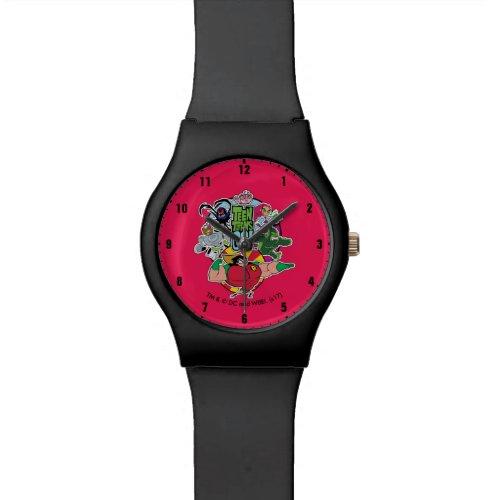 Teen Titans Go! | Team Group Graphic Wristwatch