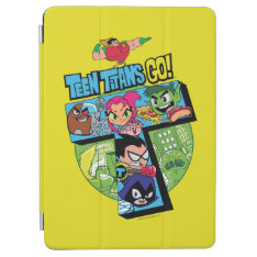 Teen Titans Go! | Titans Tower Collage Ipad Air Cover at Zazzle
