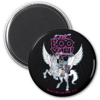 Teen Titans Go!   Warrior Cyborg Riding Pegasus Magnet