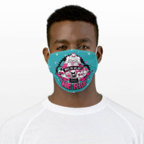 "Teen Titans Go!   ""We Ride"" Retro Moto Graphic Adult Cloth Face Mask"