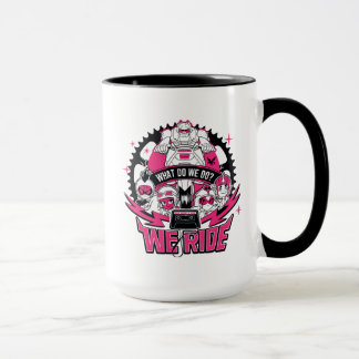 "Teen Titans Go! | ""We Ride"" Retro Moto Graphic Mug"