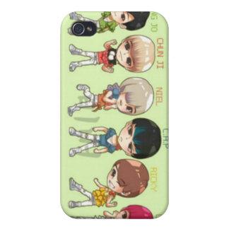 teen top, asians, korean iPhone 4 covers