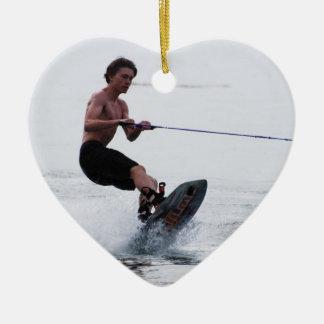 Teen Wakeboarder Ornament