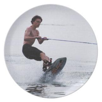 Teen Wakeboarder Plate