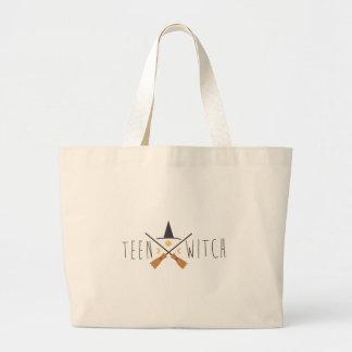 Teen Witch Jumbo Tote Bag