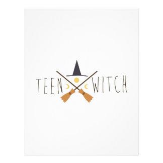 Teen Witch Letterhead