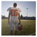 Teenage (16-17) American football player Ceramic Tile