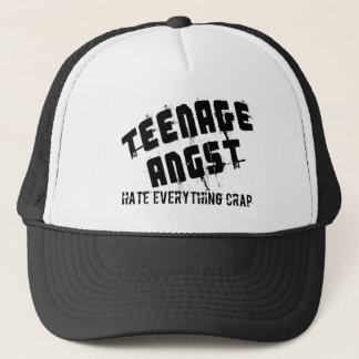 Teenage Angst Trucker Hat